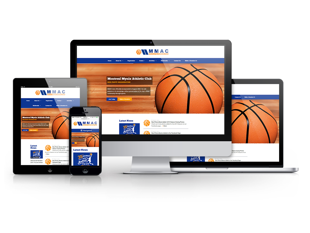 Web/Branding - MMAC Sports