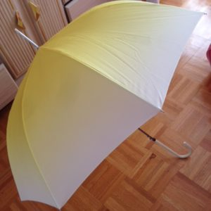 Umbrella as base (that I carried all the way during my trip from China)