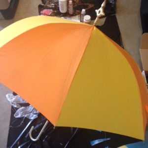 Painted according to Leona's umbrella sword
